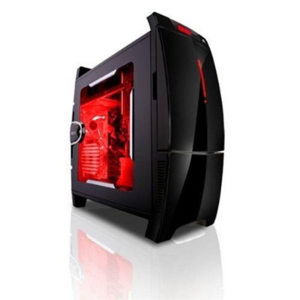 Gabinete BlackLine Steel Plastic ATX+ (diseño full)